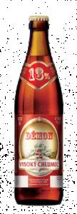 piwo vysoki chlumec demon butelka