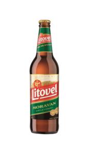 piwo butelka litovel moravan