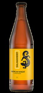 piwo salamander american wheat butelka