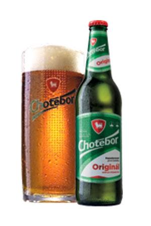 chotebor original butelka