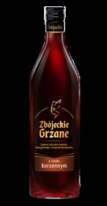 zbójeckie grzane korzenne butelka