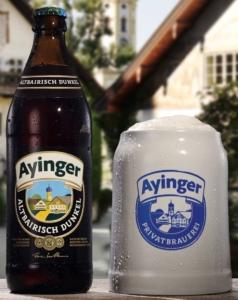 piwo ayinger altbairisch dunkel butelka
