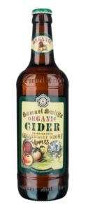 organic cider butelka