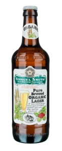 piwo organic lager butelka