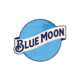 blue moon logo transparent