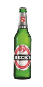 piwo becks butelka